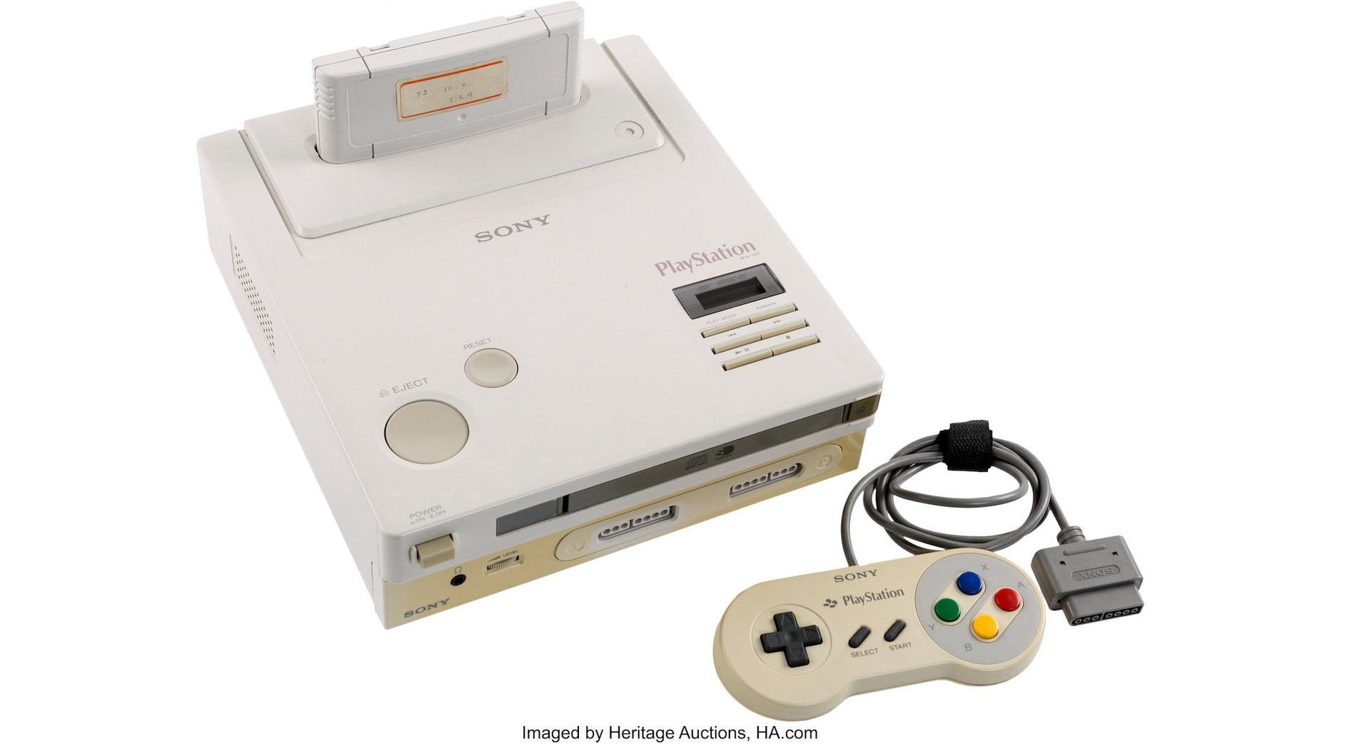 Así fue el prototipo de consola de 1991 desarrollado entre Nintendo y Sony