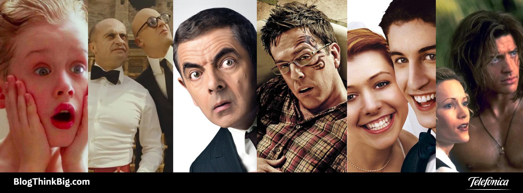 10 películas de humor que te harán más amenos estos días