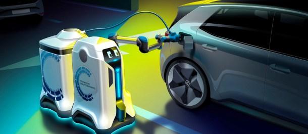 robots que cargan tu coche eléctrico