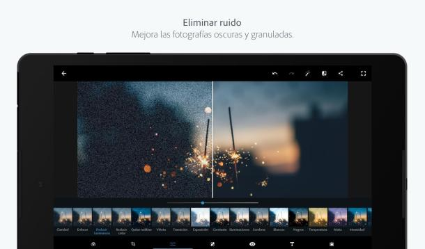 adope photoshop express editar foto app movil