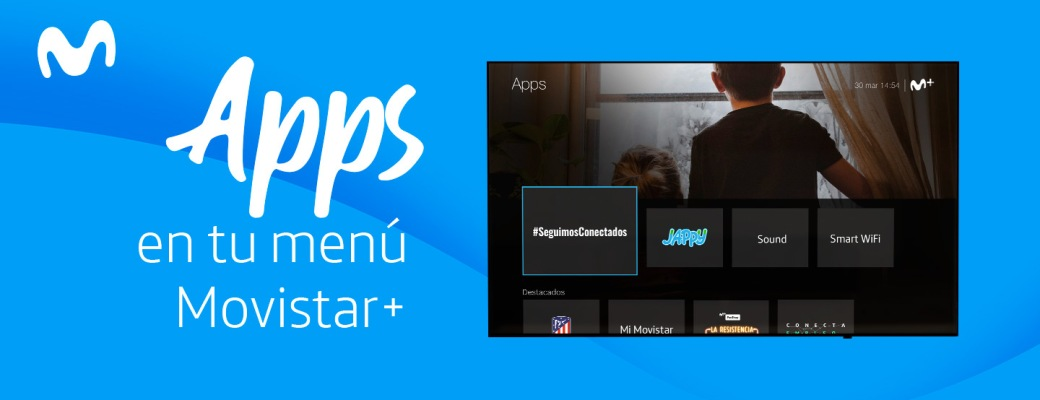 Apps de Movistar en la televisión Movistar+