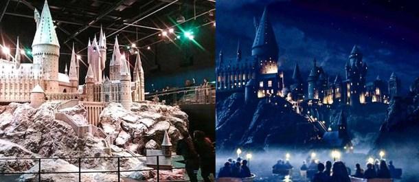 Harry Potter howarts efectos especiales