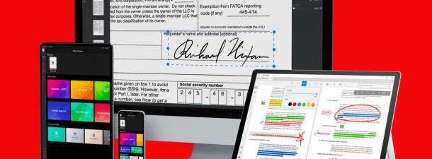 Un lector PDF gratuito con funciones de edición para todos tus dispositivos