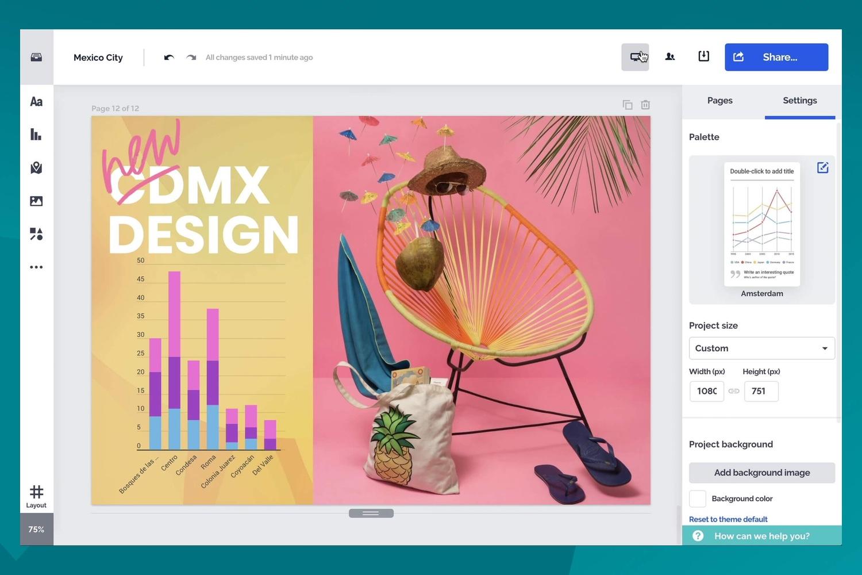 Prezi Design te lo pone muy fácil para crear diseños interactivos