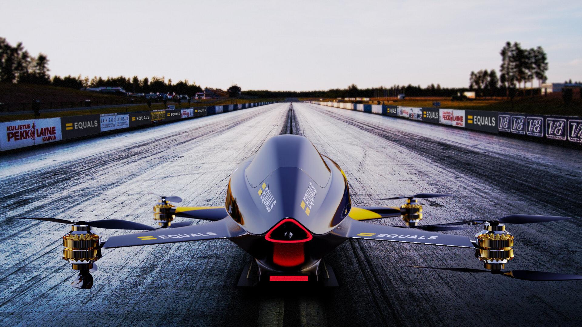 Las carreras de coches voladores, cada vez más cerca