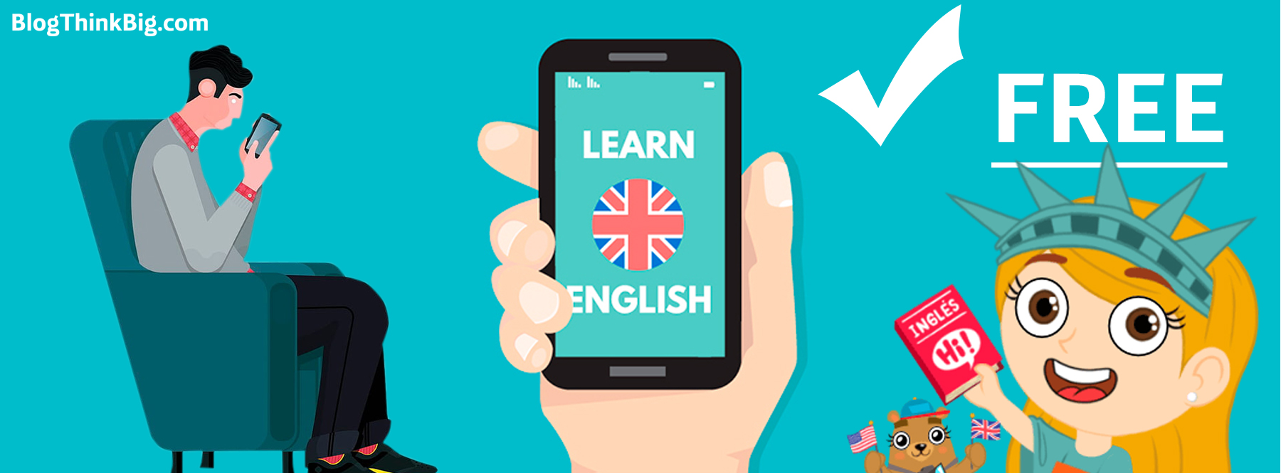 Apps para aprender inglés gratis desde el sofá de casa