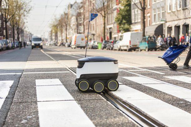 entregas con robots autónomos