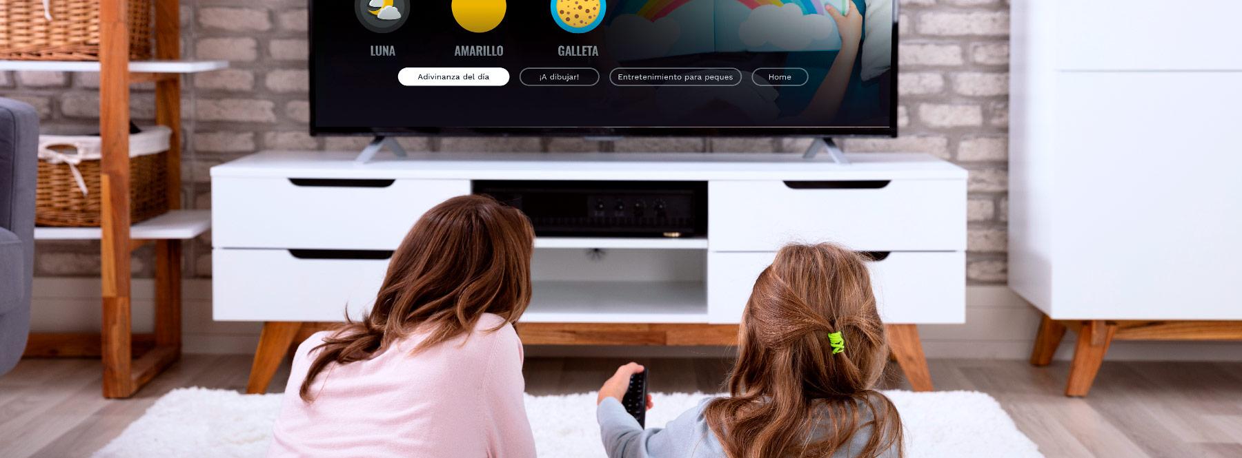 Living Apps para niños en Movistar+: juega y aprende con tus hijos