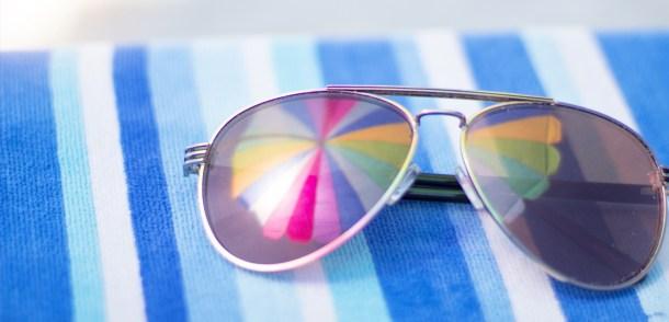 gafas de sol mejora nuestro estado de ánimo playa