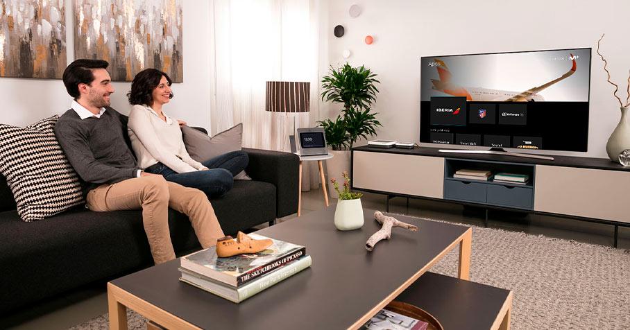 Cómo hacer tu hogar más inteligente con las Living Apps en Movistar+