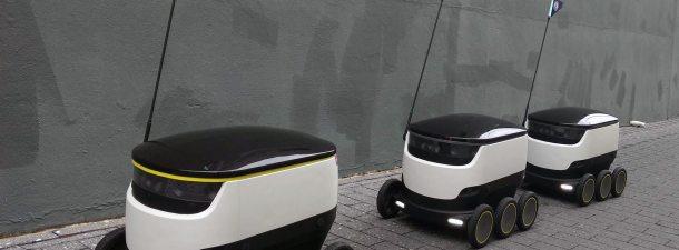 Así crecen los servicios de entregas con robots autónomos