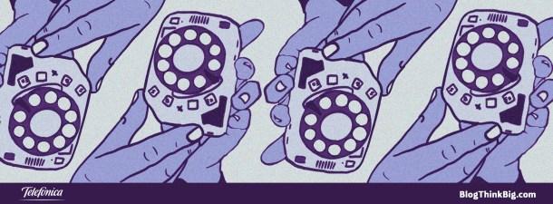 ¿Existen los móviles con dial giratorio?