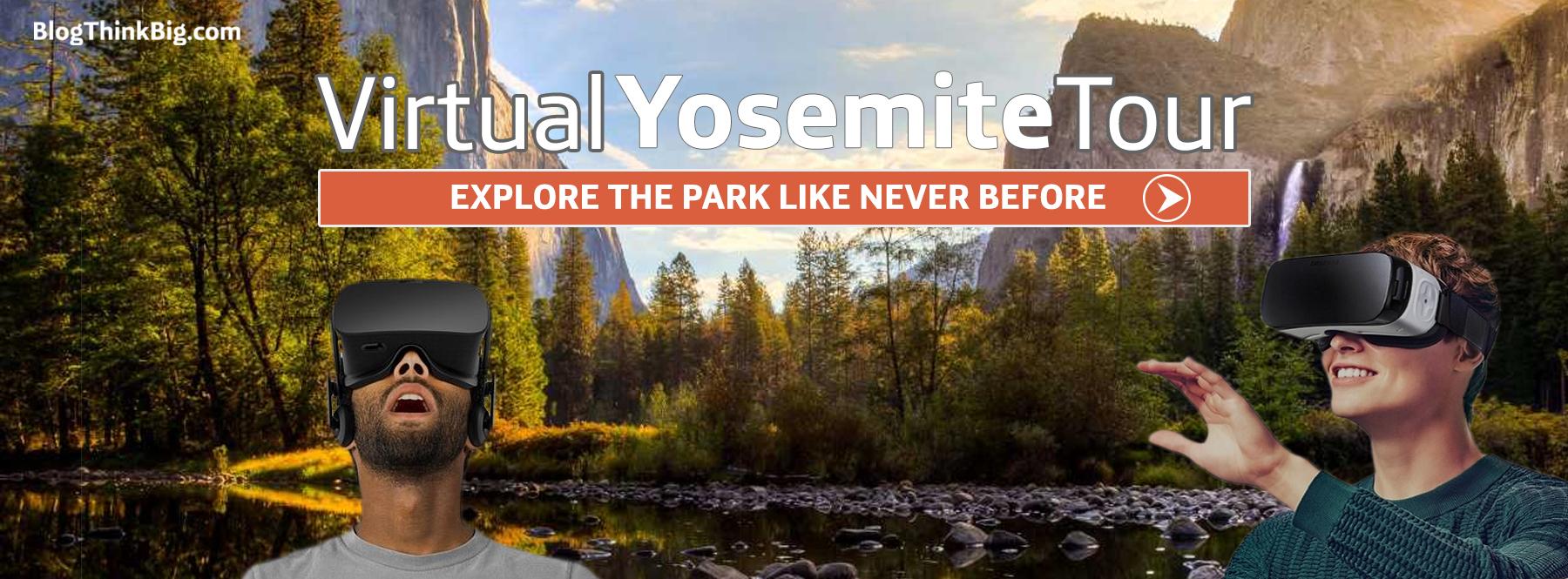 Visita el parque nacional de Yosemite desde tu móvil gracias a este Virtual Tour