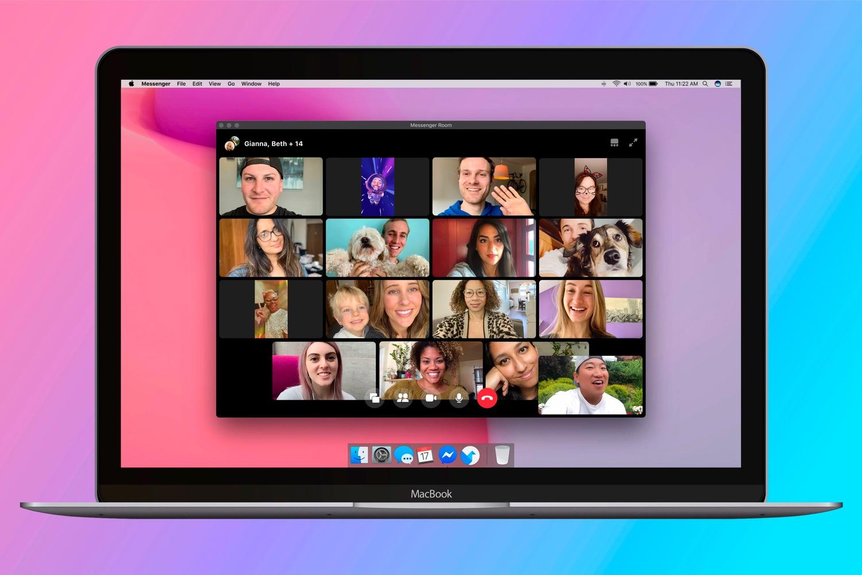 Las videollamadas en grupo llegan a Facebook con Messenger Rooms