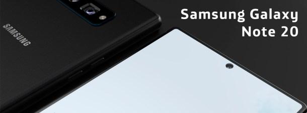 Las filtraciones del nuevo Samsung Galaxy Note 20 apuntan a una enorme pantalla
