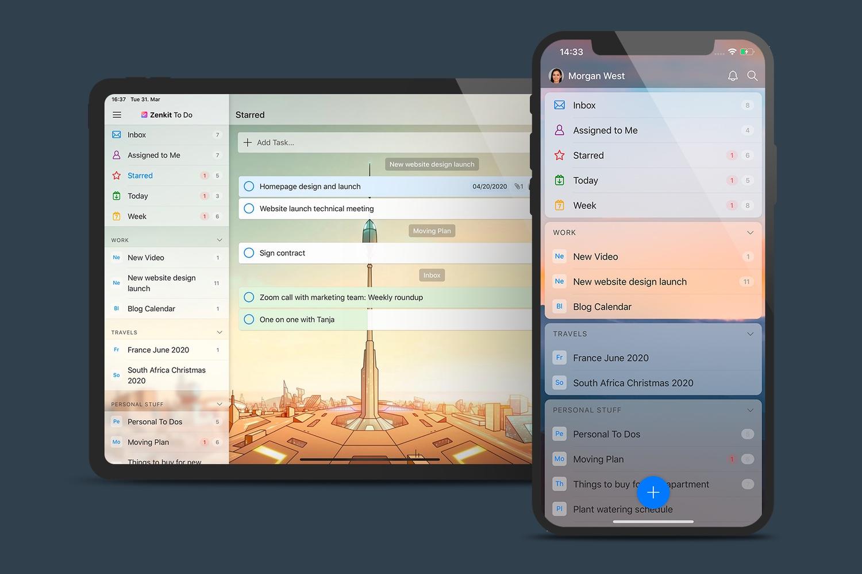 Zenkit To Do es un gestor de tareas para equipos basado en la sencillez