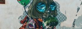Mascarillas digitales de artistas urbanos