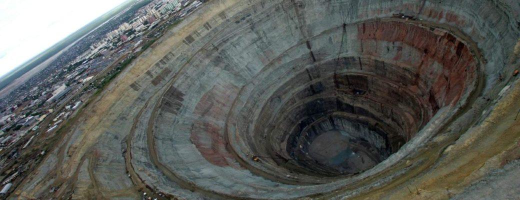 pozo más profundo de la Tierra
