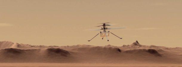 Ingenuity: el primer helicóptero que volará en Marte