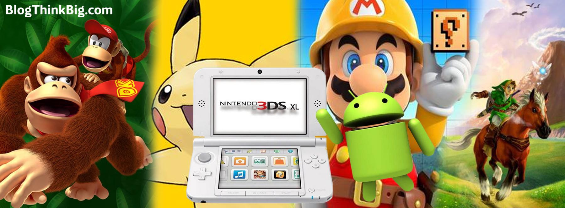 Llega a Android el emulador de la Nintendo 3DS