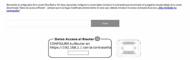 Contraseña router Movistar
