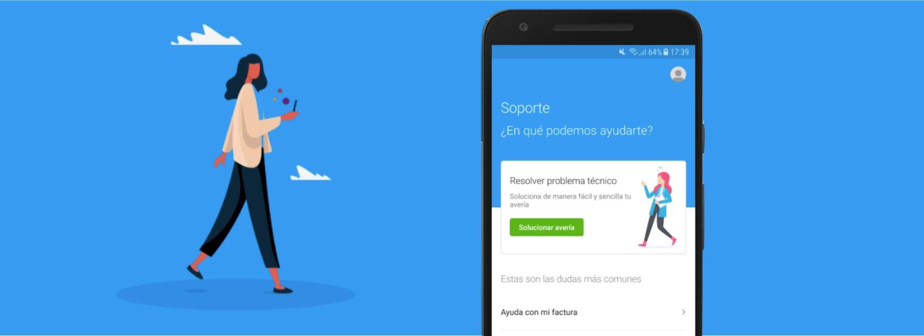 Cómo sacar partido a las opciones de Soporte y ayuda en la app Mi Movistar