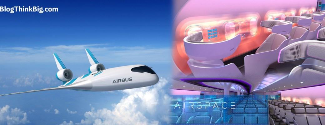 Maveric Airbus prototipo ala integrada