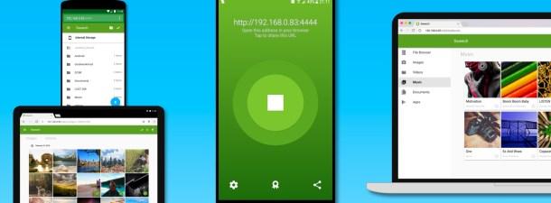 Accede al contenido de tu smartphone Android como si fuera un disco externo