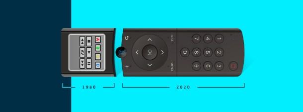 Cómo ha evolucionado el mando a distancia: del Lazy Bones al Mando Vocal