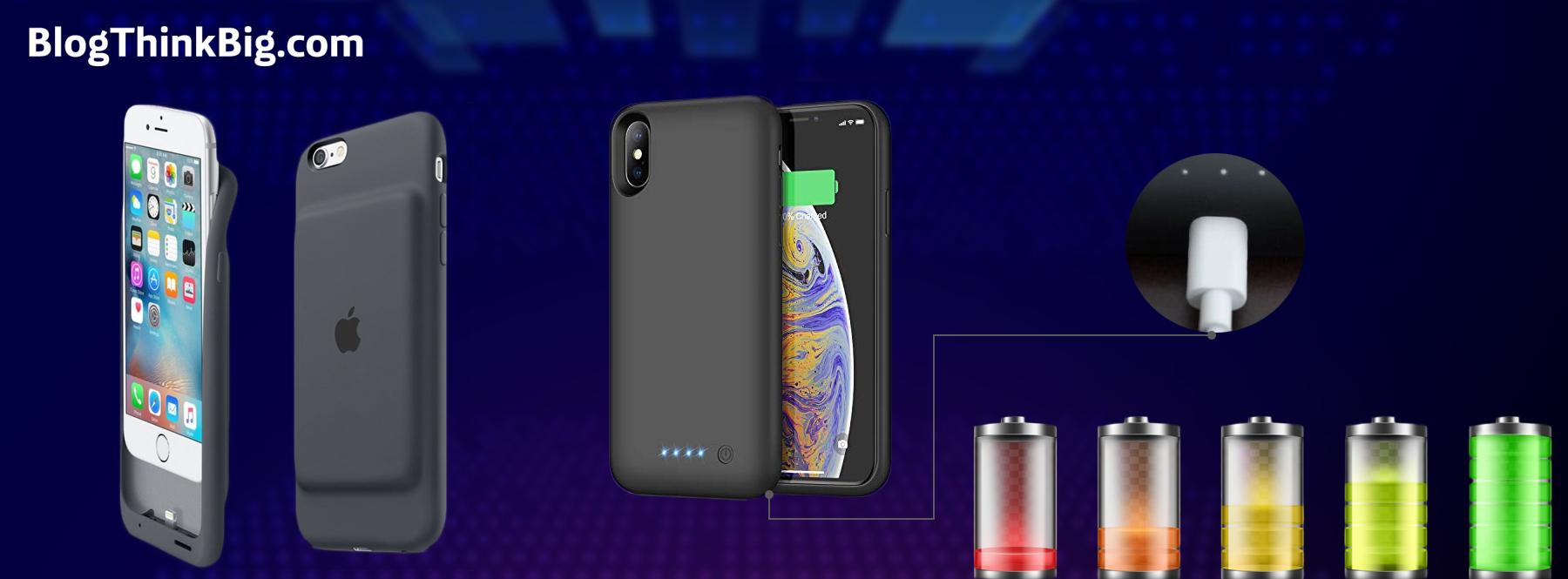 ¿Te quedas sin batería en el móvil? Estas fundas inteligentes la cargan