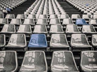gradas estadio vacio realidad virtual futbol deporte