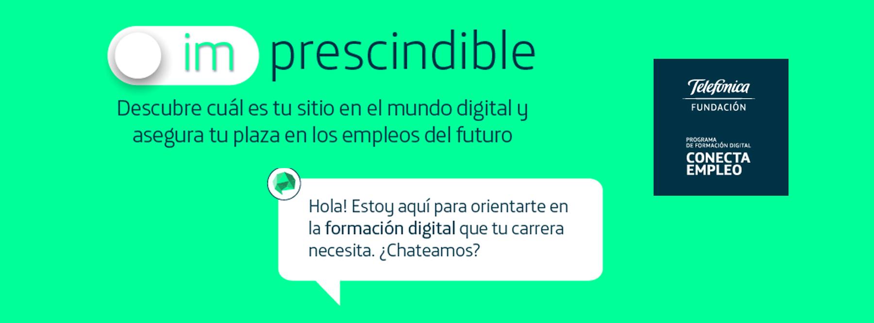 ¿Qué oportunidades de empleo digital hay para ti? Descúbrelo con este chatbot