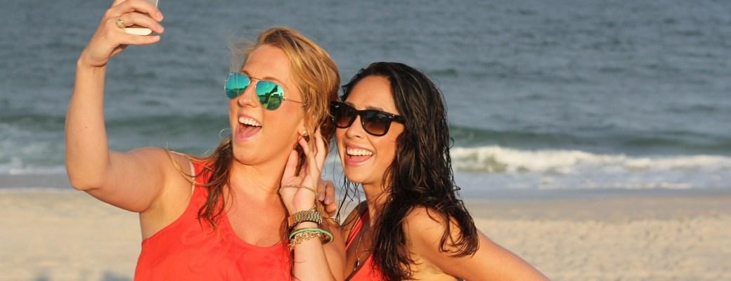 Selfies con distancia social