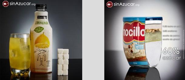 sinazucar.org cuanto azucar tienen los alimentos