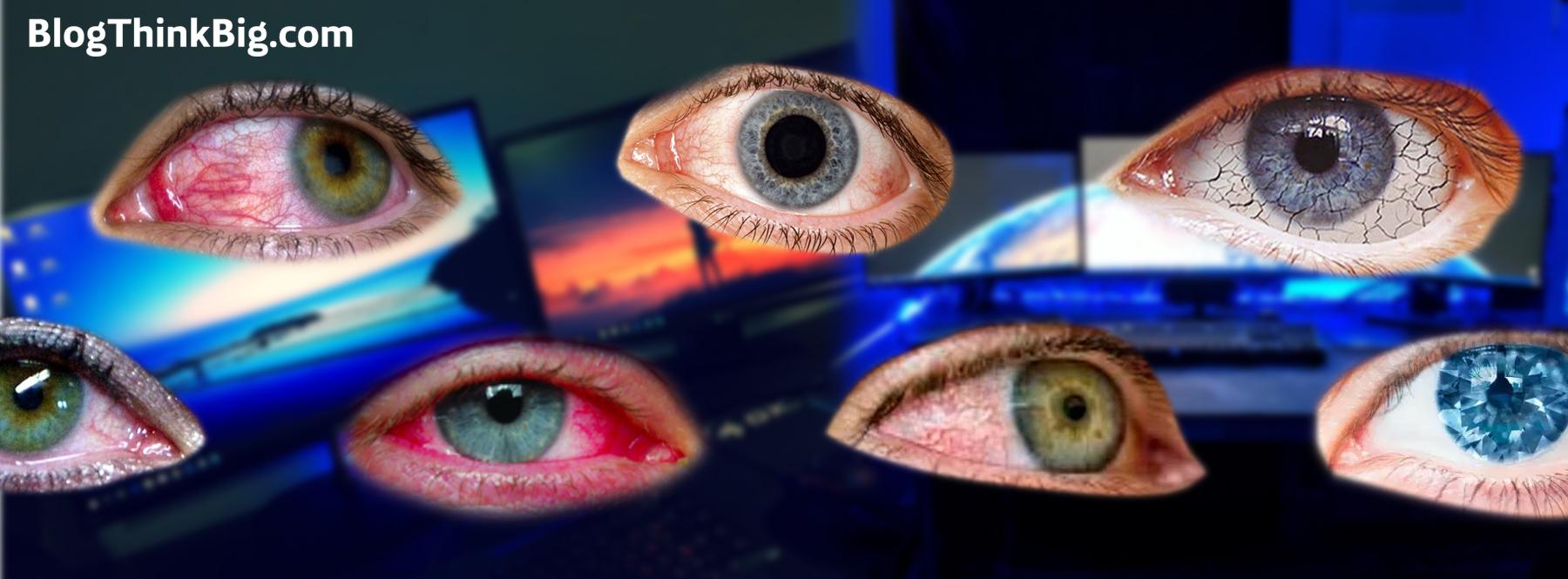 ¿Cómo afectan las pantallas a nuestros ojos? El Síndrome del Ojo Seco