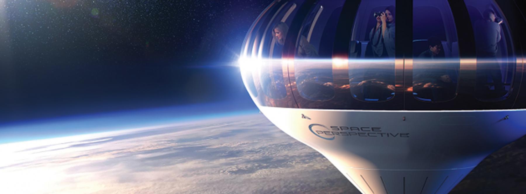 Lo último del turismo espacial: en viaje a la estratosfera… en globo