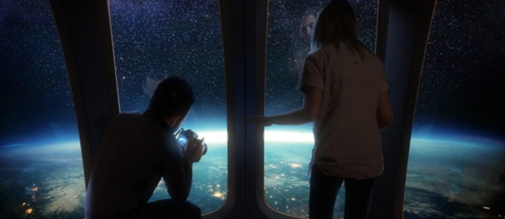 viajar al espacio en globo