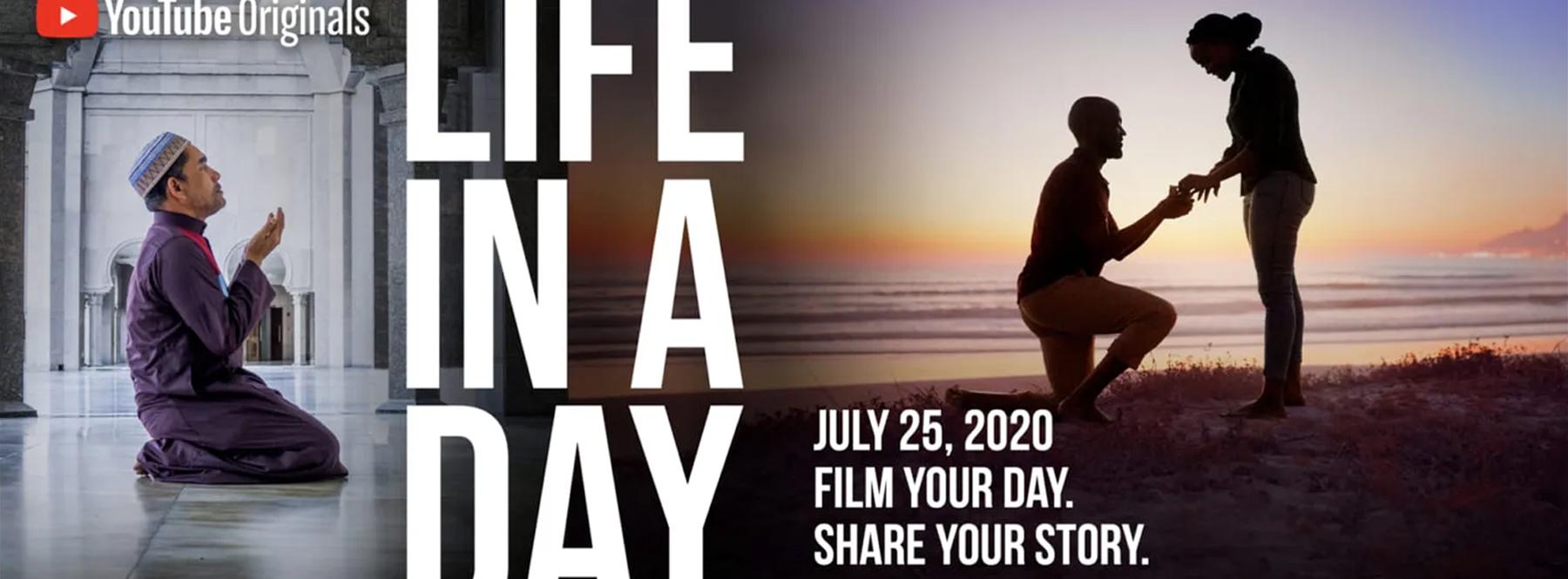 Graba un día de tu vida para un documental de Ridley Scott