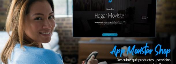 App Movistar Shop: descubre el potencial de tu hogar Movistar