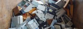 Extraer el oro de la basura electrónica será más fácil con este polímero