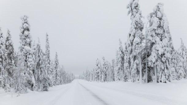 fuegos en el Círculo Polar Ártico