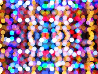 Comunicación por led, luces, leds