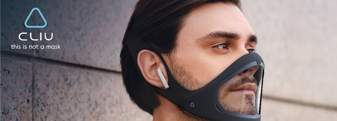 Cliu Mask, la mascarilla futurista que mide tus constantes vitales y se desinfecta
