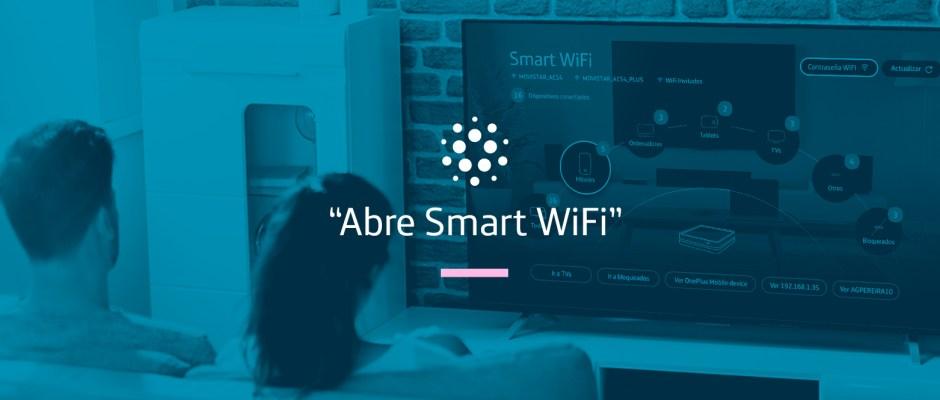 """""""Abre Smart WiFi"""": entra en la App a través del Mando Vocal Movistar+"""