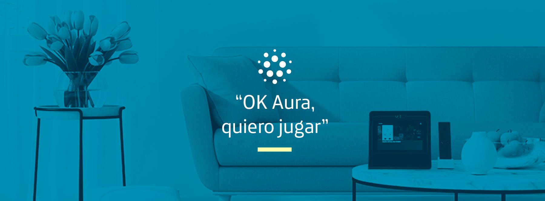 """""""OK Aura, quiero jugar"""": diviértete en familia con Movistar Home"""