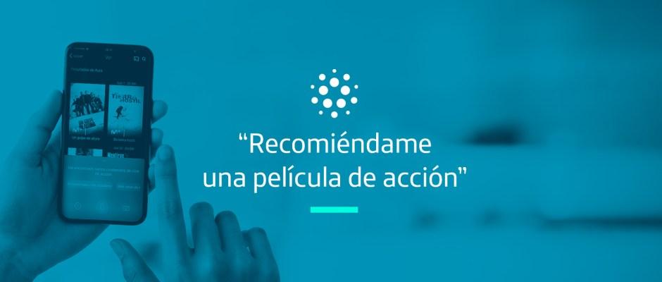 """""""Recomiéndame una película de acción"""": Aura te ayuda a encontrar películas en la App Movistar+"""