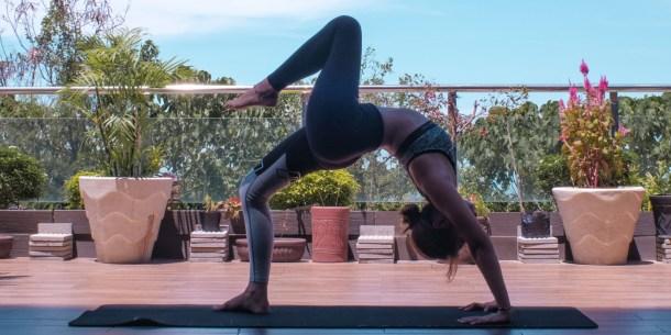 yoga al aire libre