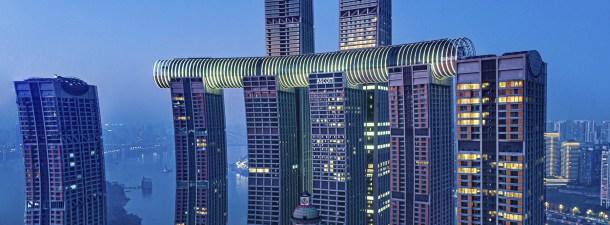 Los primeros rascacielos horizontales del mundo están en Asia y son un espectáculo visual