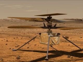 helicóptero para Marte