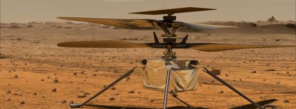 La NASA prueba su helicóptero para Marte